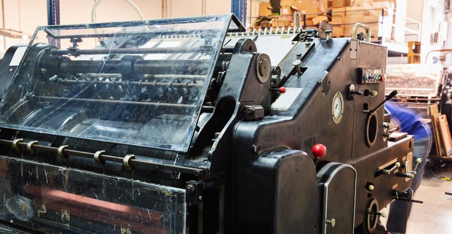 מכונת דפוס אופסט